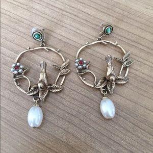 Jewelry - Bird Vintage Style Earrings